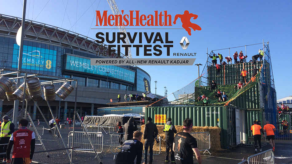 Men's Health Survival of the Fittest London 2015