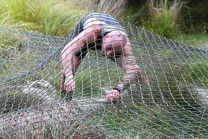 Cargo Net Crawl