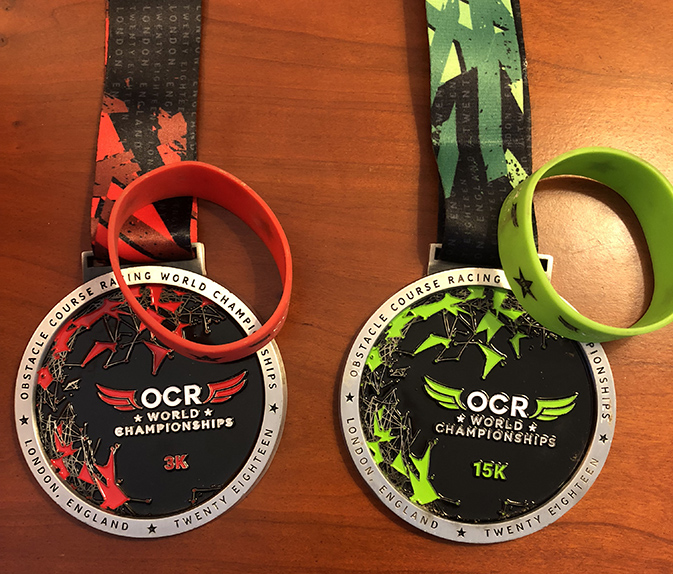 OCRWC 2018 - Medals and Bands