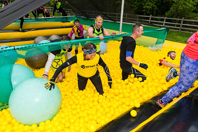 Rat Race Dirty Weekend 2017 - Ball Pit