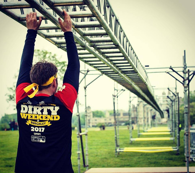 Rat Race Dirty Weekend - Monkey Bars