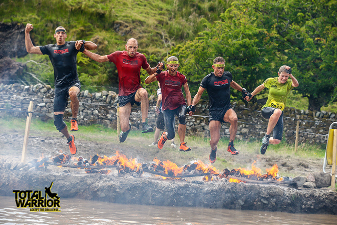 Total Warrior Lakes - Human BBQ