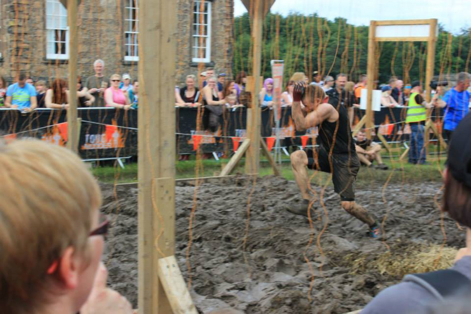 Tough Mudder electric wires